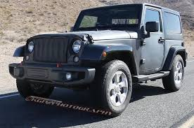 jeep wrangler front drawing spied 2018 jeep wrangler prototype caught with live axle setup