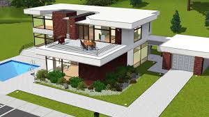 sims 3 modern house floor plans home architecture the sims house designs modern odyssey family