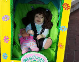 Cabbage Patch Doll Halloween Costume Cabbage Patch Kid Onesie Halloween Onesie Costume