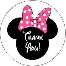 minnie mouse birthday 30 minnie mouse birthday party invitation stickers thank you ebay