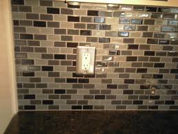 Glass Tiles Backsplash Kitchen The Modern Designs Glass Tile Kitchen Backsplash Home Design And