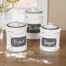 colorful kitchen canisters colorful farmhouse kitchen canisters styling up your dupree canister