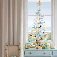 Decorated Live Christmas Trees Tabletop by 52 Best Coastal Christmas Images On Pinterest Coastal Christmas