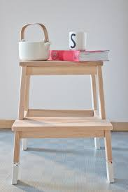 Ikea Stepping Stool Diy Ikea Stepping Stool Upgrade U2013 Look What I Made Look What I