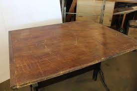 Dietzgen Drafting Table Antique American Drafting Table By Dietzgen At 1stdibs