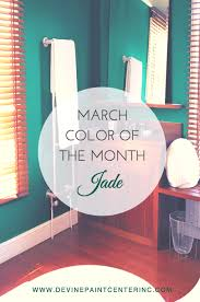 march color of the month dazzling jade