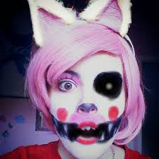 Freddy Halloween Costumes Deviantart Collections Mangle Makeup Test