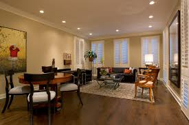 innovative recessed lights trend chicago eclectic living room