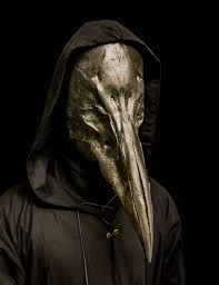 plague doctor mask the reaper black plague doctor mask