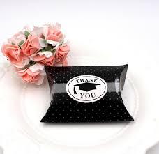 Graduation Boxes 100pcs Vintage Black Party Favor Candy Box Gift Boxes For