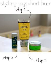 hair products for pixie cut styling short hair