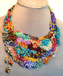 bib necklace beaded images Beaded necklace statement necklace archives stephanie corfee jpg