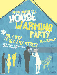 housewarming invitation template vector art getty images