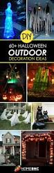top 25 best diy outdoor halloween decorations ideas on pinterest