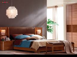 Bedroom Decorating Ideas In Blue And Brown Bedroom Appealing Design Interior Bedroom With Brown Leather