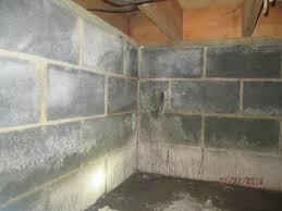 Mold On Basement Walls Cinder Block - tar heel basement systems crawl space repair photo album boone