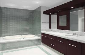 Modern Tile Bathroom In Good Cool Modern Bathrooms Affordable Cool Bathroom Mirrors