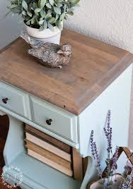 inglenook painted nightstand fusion mineral paint april color of