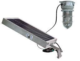solar power larson releases solar powered 10 watt led hazardous
