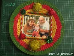 personalized paper plate christmas wreath fun family crafts