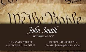 Lawyer Business Card Design The People Government Lawyer Business Card Design 401251