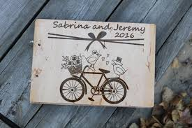 rustic wedding album rustic wedding album wooden guest book alternative wood guestbook