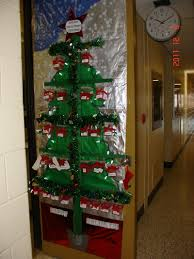 christmas decorations for office doors mouthtoears com