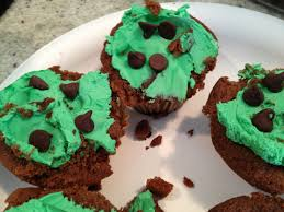 Irish Halloween Cake Epic Fail Mint Chocolate Chip Cupcakes U2026 As Documented By One