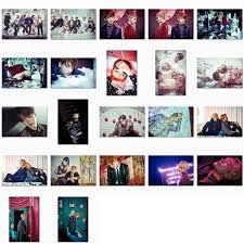 4 6 photo albums bts wings album 4x6 photo set kpop mall usa
