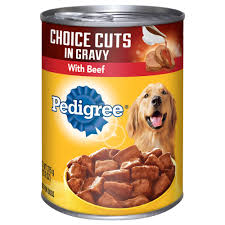 pedigree choice cuts with beef dog food petco