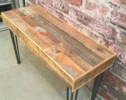 Reclaimed Wood Desk Reclaimed Wood Desk Etsy