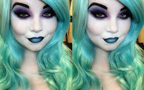 female hades halloween look with makeup revolution she might be