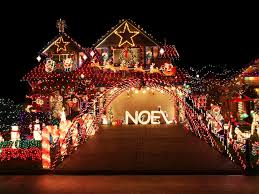 Christmas Decorations For Outside The Home by Over The Top Christmas Lighting Displays Diy