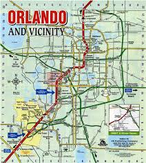 Orlando Area Map Florida by Location