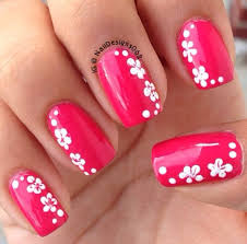 100 flower nail designs hawaiian flowers flower designs and