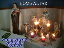 culture do non catholic traditions family altars