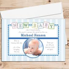 personalised birth announcement cards baby announcement cards