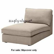 Ikea Chaise Lounge Ikea Solid Pattern Chaise Lounge Furniture Slipcovers Ebay