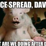 Ham Meme - pig eats ham meme generator imgflip