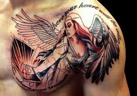 43 heavenly angel tattoo designs tattooblend