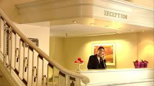 Lobby Reception Desk Lobby Reception Hotel Switzerland Hd Stock Video 356 281