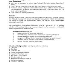 high resume objective sles resume template sle for graduate application objective
