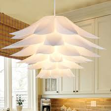 Lotus Pendant Light Flower Pendant Light Material Of Pvc Lotus Shape Fixture
