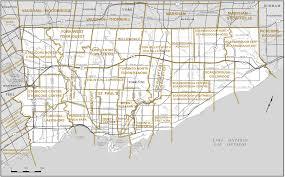Map Of Toronto Proposed Boundaries U2013 Ontario Redistribution Federal Electoral