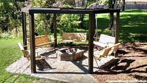 Backyard Cing Ideas For Adults Outdoor Swing Ideas Findkeep Me