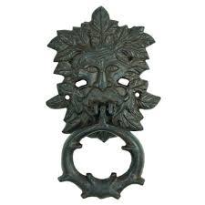 decorative door knockers decorative door knockers rustic large cast iron green man door