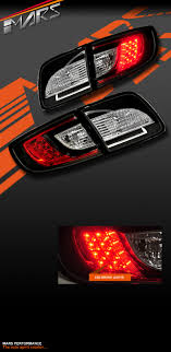 mazda 3 tail lights black led tail lights for mazda 3 sedan 03 09 taillight brake l