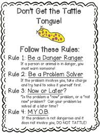 Tattling Teaching Resources Teachers Pay Teachers Tattle Tongue Coloring Page