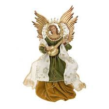 christmas tree topper guardian angel tree topper christmas tree decoration