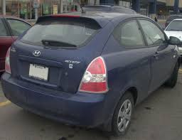 hyundai hatchback file u002709 hyundai accent 25th anniversary hatchback rear jpg